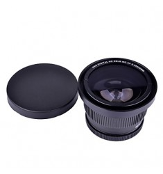 52mm 0.35x Super Fisheye Wide Angle Lens for Cannon Nikon Sony Fuji Cameras
