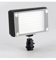 WanSen 96 96 LED Video Light Lamp 7W 900LX Dimmable for Canon Nikon Pentax DSLR Camera