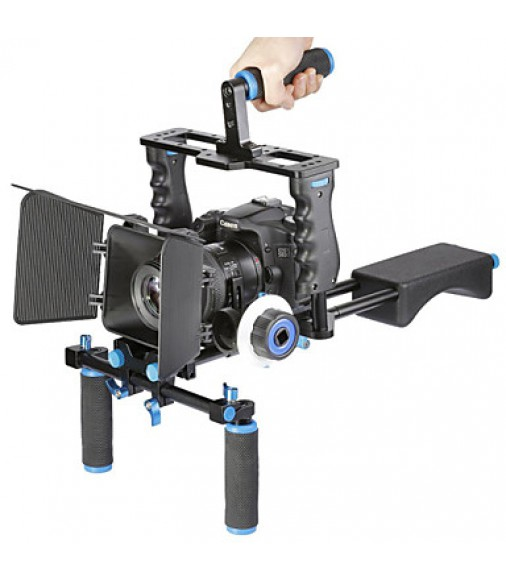 Aluminum Film Movie Kit System Rig other DSLR Cameras