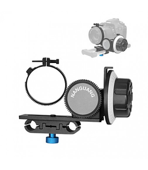 2015 New Follow Focus CN-90F with Gear Ring Belt for Canon Nikon Lens DSLR Cameras Camcorders