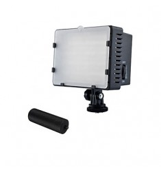 NANGUANGE CN-126 LED Video Light Video Lamp Video LED Camcorder DV Lighting 5400k for Camera DV with Metal Handles